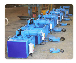 Electric Hoists manufacturer in India