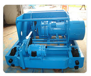 Flame Proof Wire Rope Electric Hoist manufacturer of India