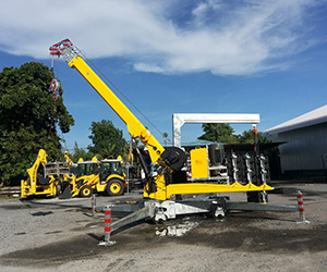 Portable Cranes Manufacturer, Gujarat,India